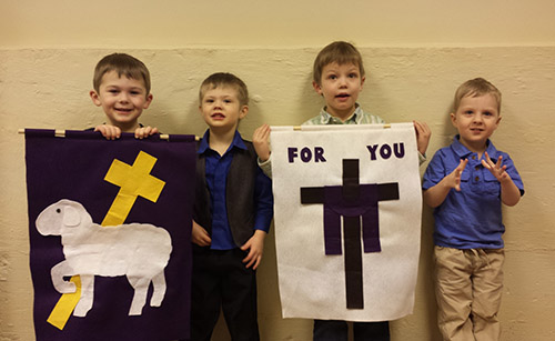 Sunday School banner makers!